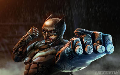 Batman by UTTOTOR
