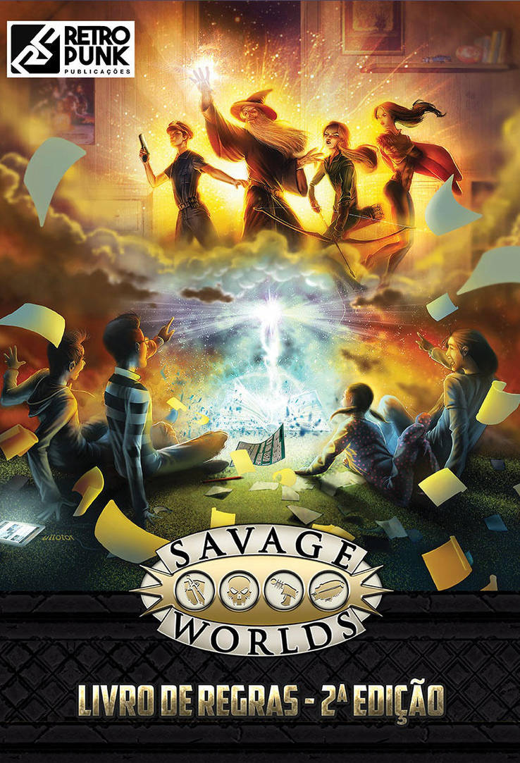 Cover Savage Worlds by UTTOTOR