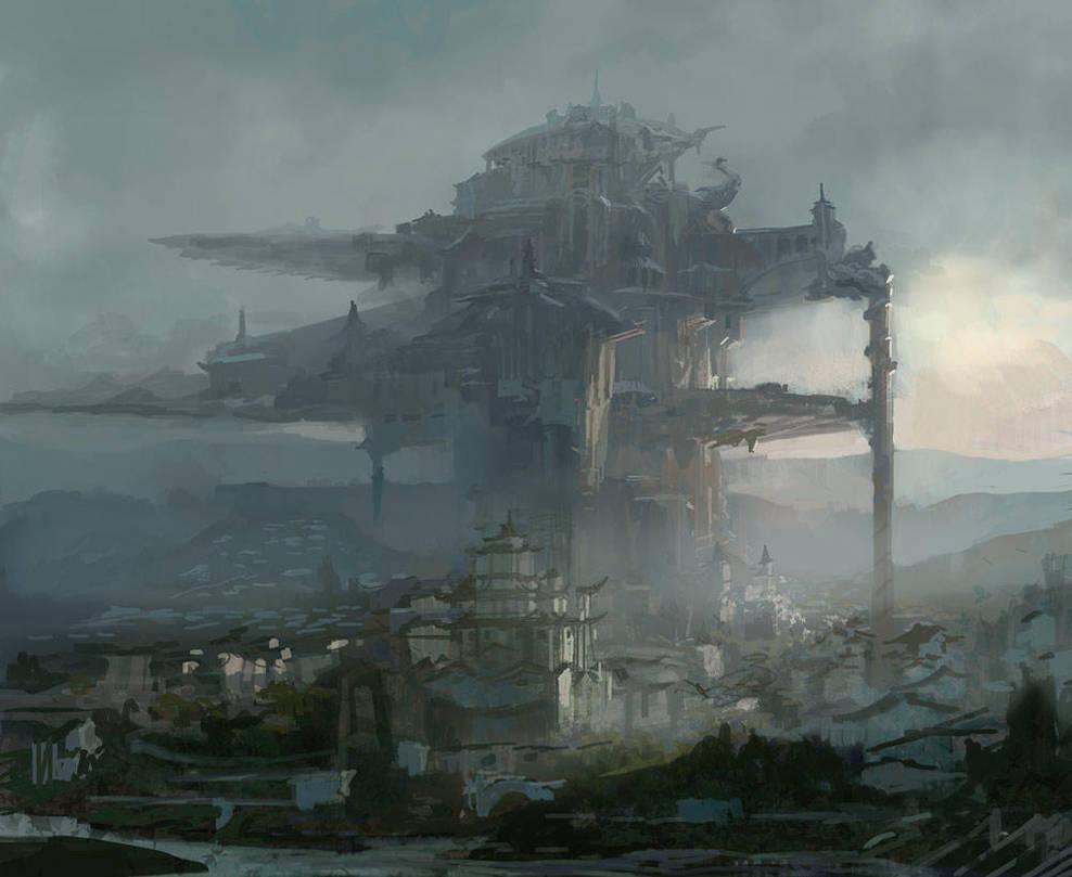 castle by fish-walker