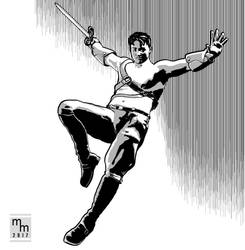 Days Gone - Hero Leaps by mmitchellhouston