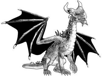 Dragon 3 Test by mmitchellhouston