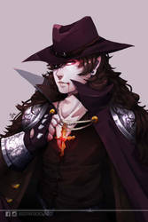 [Commission by jade-king] Lucien Cain by dotpapercrowndot