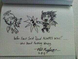 Who ever said 'Good always wins'....... by Nexusenigma