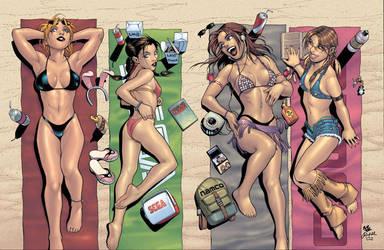 Girls of Tekken-Virtua Fighter by RickMays