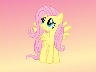 Fluttershy by florecentflower