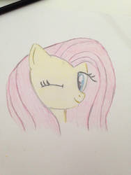 Flutterfly drawing by florecentflower