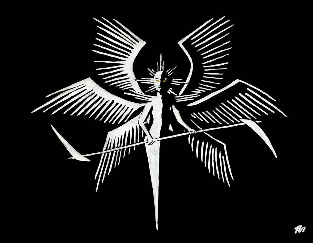 Seraph of Blades by BeatryczeNowicka