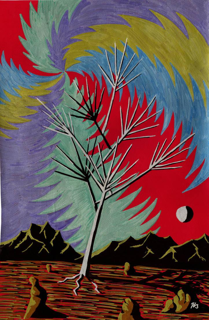 Tree of Pain by BeatryczeNowicka