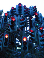 Traffic Lights by hakfest-stock