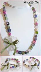 Imbalanced Garden Necklace by draginchic