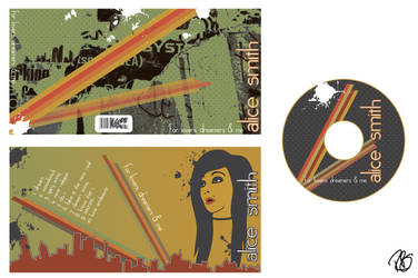CD design by draginchic