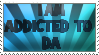 Addicted to DA stamp by ZeCrazyAngel