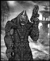Gears of War : General Raam by Francisgenois