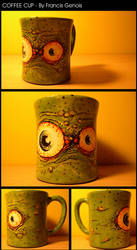 Eyed Coffee Cup by Francisgenois