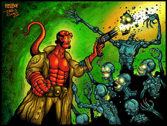 Hellboy by Francisgenois