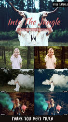 Free Into The Jungle Photoshop Actions by creativetastic