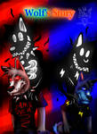 Wolf's Story Cover by Randomthewolfskie