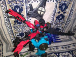 Windblade vs Thunderhoof 2 by LittleKunai