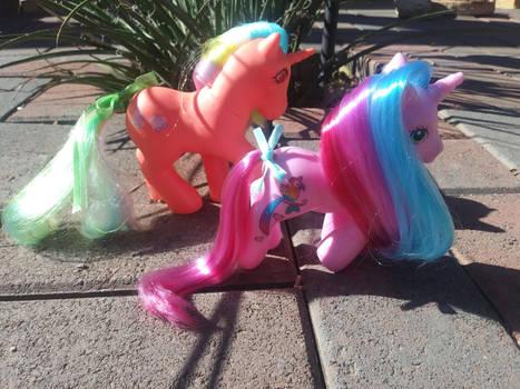 Unicorns on a Morning Stroll by LittleKunai
