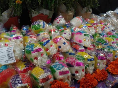 Sugar Skulls by LittleKunai