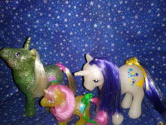 Sparkle Ponies by LittleKunai