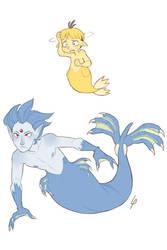 Pokemarmay 2: Psyduck and Golduck by Lisosa
