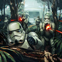 Star Wars Galaxies TCG - Trooper Assault by Kaiz0