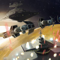 Star Wars Galaxies TCG - Orbital Bombardment by Kaiz0