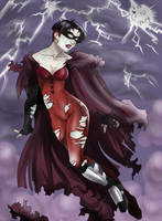 Scarlet Witch as Horseman by Autumn-Sacura