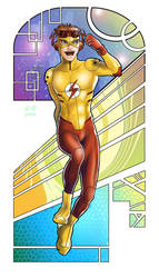 Kid Flash by Autumn-Sacura