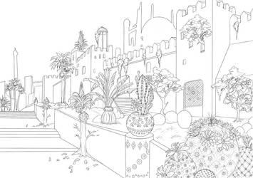 Capital city - lines by Autumn-Sacura