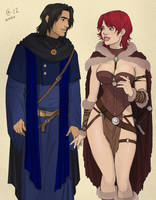 Tyra and Marthin by Autumn-Sacura