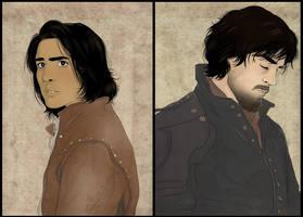 Athos and Dartagnan by Autumn-Sacura