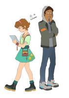 Lance and Pidge by Autumn-Sacura