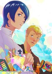 Yusuke and Ryuji by Autumn-Sacura