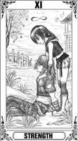 KH Tarot: Strength by Autumn-Sacura