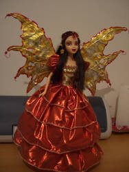 Amy OOAK gothic fairy barbie by DivinityNemesis