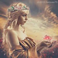 freya:goddess of fertility by hemuex73