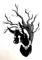 Jackie (Inktober #4) by Lone--Dragon