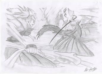 Renji vs Ichigo by Jamezzz92