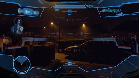 Halo 4 Master Chief HUD by Jamezzz92