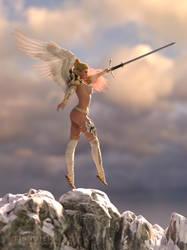 Warrior Angel by Tinnuien
