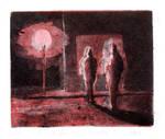 The Night Light is Red by Rafaelmox