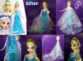 Frozen Elsa custom by angel99percent