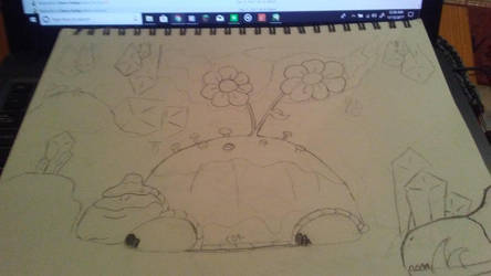 enchanted turtle  by len9796