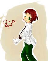 Rin (katawa Shoujo) by KimxLee