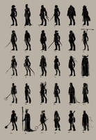 male character thumbnails by CarolineLaplante