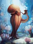 Squidley Masterson by CarolineLaplante