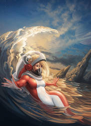 Fishgirl Explorer - Concepteez by CarolineLaplante