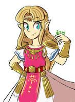 Zelda by GreenApple715